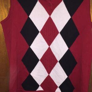 Liz Claiborne Tops - Lizgolf Liz Claiborne Argyle sweater vest shirt S
